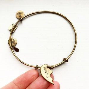 "Gold ""Best"" (Best Friends) Alex and Ani bracelet"
